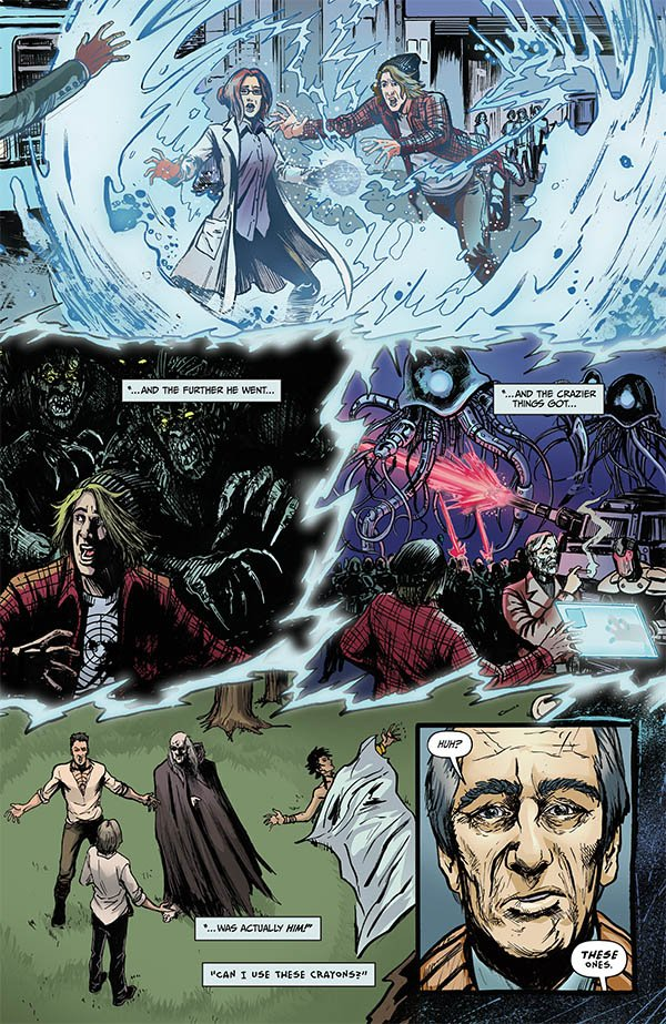 The Accelerators Volume 4 Pages